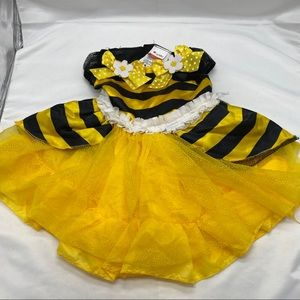 Bumble Bee Costume, yellow Black  & White size 2 T